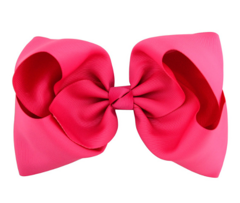 Big Bow 8 inch/20 cm Pink - Three Bears Kids