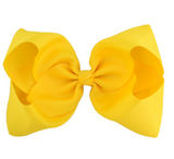 Big Bow 8 inch/20 cm Yellow - Three Bears Kids