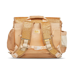 "Bixbee ""Sparkalicious"" Gold Backpack - SMALL 2 TO 5 Years"