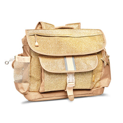 "Bixbee ""Sparkalicious"" Gold Backpack - LARGE 7 TO 12 Years"