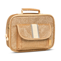 "Bixbee ""Sparkalicious"" Gold Kids Insulated Lunchbox"
