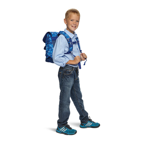 Bixbee Shark Camo Backpack - MEDIUM 5 TO 7 Years - Three Bears Kids