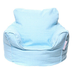 Mini Beanz Toddler Lounge Blue Bean Bag - Three Bears Kids