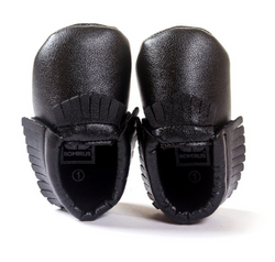 Baby Mocs - Black - Three Bears Kids