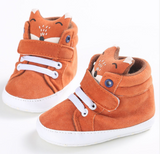 Fox Sneakers - Orange - Three Bears Kids