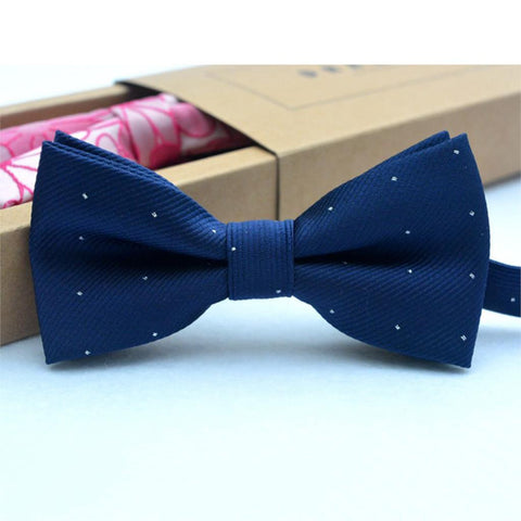 Bow Tie - Touch Of Glitter Navy - Three Bears Kids