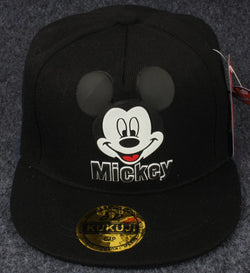 All Black Mickey Mouse Cap