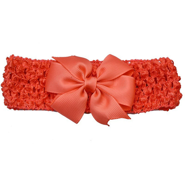 Bow Headband - Blush - Three Bears Kids