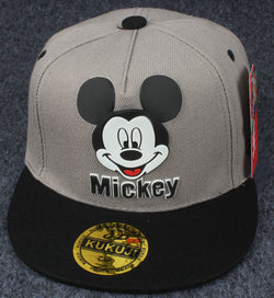 Grey Mickey Mouse Cap - Three Bears Kids
