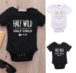 Half Wild Romper - Three Bears Kids