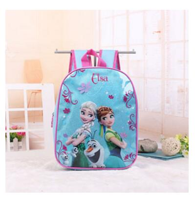 Elsa & Anna Frozen Backpack - Blue - Three Bears Kids