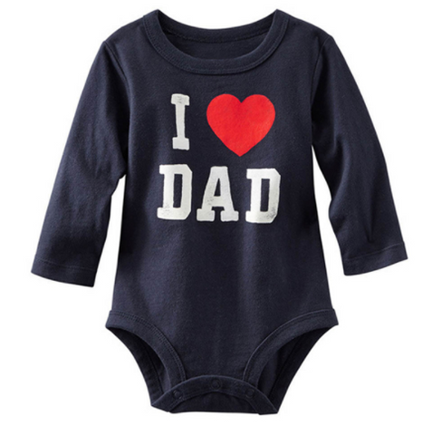 I Love Dad Romper - Three Bears Kids