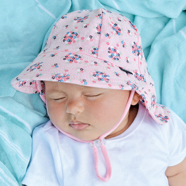 Bedhead Baby Girls Legionairre Hat - Ava Blush - Three Bears Kids