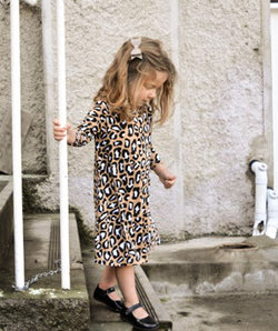 LEXI DRESS  - Leopard Print - Three Bears Kids