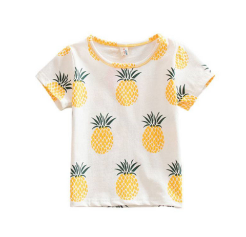 Pineapple T-Shirt - Three Bears Kids