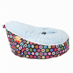 Mini Beanz Bubble Blue Bean Bag