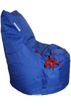 Mini Beanz - Toddler Chair Blue Bean Bag