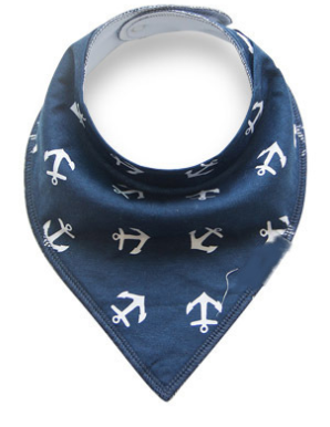 Bandana Bibs - Anchors Away - Three Bears Kids