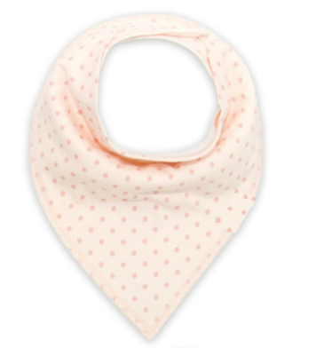 Bandana Bib - Coral - Three Bears Kids