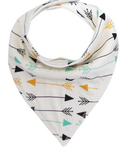 Bandana Bib - Coloured Arrows