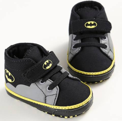 Baby Batman Booties - Three Bears Kids