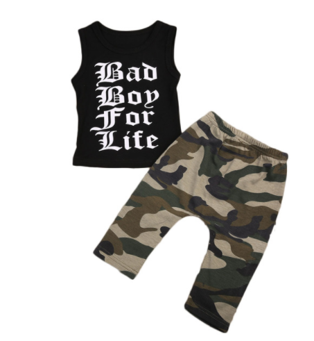 Bad Boy 2 Piece Set - Three Bears Kids
