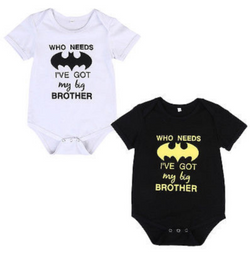 Batman Romper - Three Bears Kids
