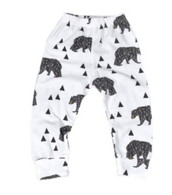 Bear Harem Pants - Three Bears Kids