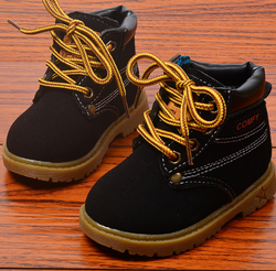 Kids Work Boots - Black