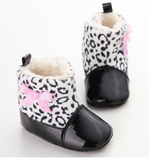 Baby Leopard Booties - Three Bears Kids