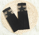 Socks - Sheer Black Star - Three Bears Kids