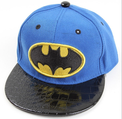Blue Batman Cap - Three Bears Kids