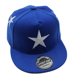 Blue Large Star Cap - Three Bears Kids