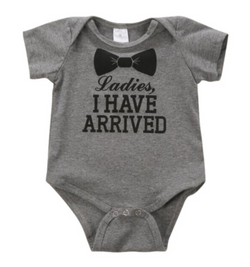 Bow Tie  Romper - Three Bears Kids