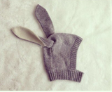 Beanie - Grey Bunny - Three Bears Kids