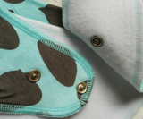 Bandana Bib - Grey Arrows - Three Bears Kids