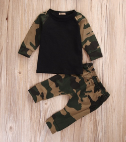 Camo 2 Piece Set - Three Bears Kids