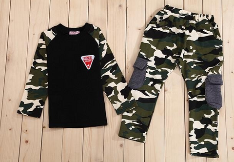 Camo Boys 2 Piece Set - Ages 3+ - Three Bears Kids