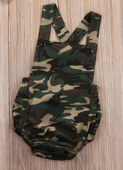 Trendy Camo Romper - Three Bears Kids