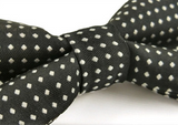 Bow Tie - Spotted Navy Blue - Three Bears Kids