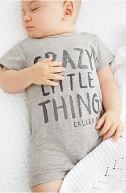 Crazy Little Thing Romper - Three Bears Kids