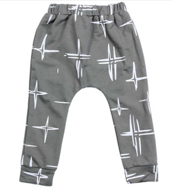 Cross Harem Pants - Three Bears Kids
