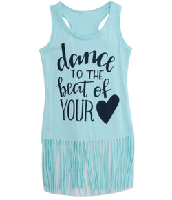 Dance To The Beat Fringe Dress