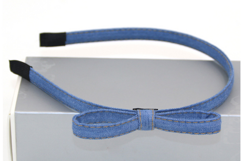 Denim Headband - Light Blue - Three Bears Kids