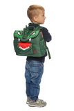 "Bixbee ""Dino"" Kids Backpack Small - Green 2 To 5 Years - Three Bears Kids"