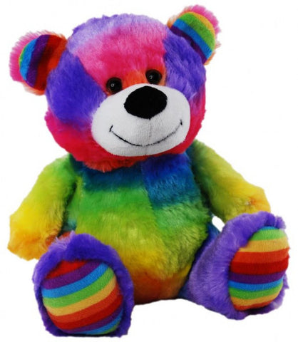 Elka Bear Jelly Rainbow Colours 23cm - Three Bears Kids