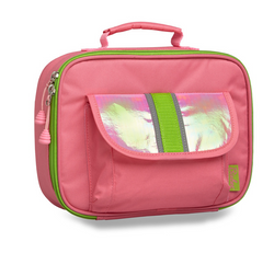 "Bixbee ""Fairy Flyer"" Kids Insulated Lunchbox - Pink - Three Bears Kids"