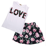 Flower Love 2 PC Set - Three Bears Kids
