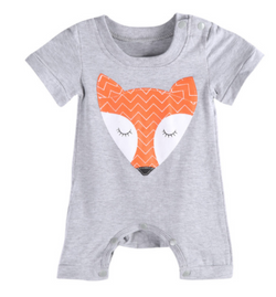 Fox Romper - Three Bears Kids