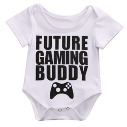 Gaming Buddy Romper - Three Bears Kids
